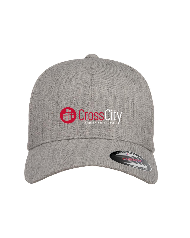 Heathered Gray Flexfit Cap